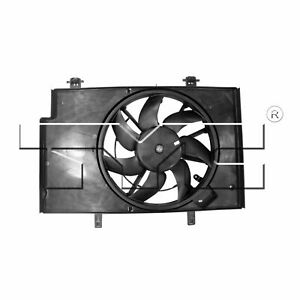 TYC 622500 Engine Cooling Fan Assembly For 11-19 Ford Fiesta
