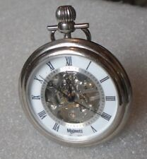 pocket watch runs modern Majesti skeletal mechanical