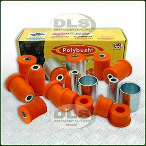Polyurethane Bush Kit POLYBUSH Dynamic Orange Range Rover L322  (DA8897)