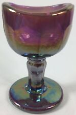 Eye Bath Wash Cup Rinse - John Bull - Amethyst Carnival Glass - USA