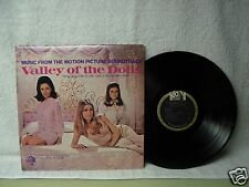 Valley Of The Dolls Lp Soundtrack Very Clean 1968 Orig! Sharon Tate Patty Duke