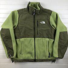The North Face Women's Denali Fleece Jacket Coat Green Full Zip SMALL Outdoor