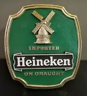 Vintage Imported Heineken on Draught Beer Windmill Advertisement 3D Sign/Stand