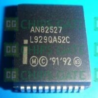 2PCS CAN CONTROLLER IC INTEL PLCC-44 AN82527 N82527