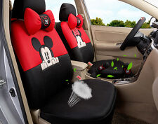 18pcs 1 set women lovely Mickey Mouse car seat cover Four seasons seat covers