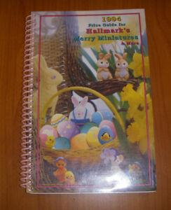 Hallmark Merry Miniatures 1994 Price Guide 2nd Edition Rosie Wells