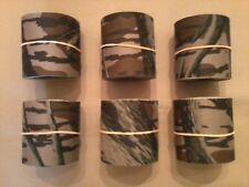 """Camo Tape, Mossy Oak Treestand, 5 rolls of 2"""" x10', bulk, Made in USA, Camp-Cap"""