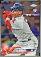 2018 Topps Chrome #25 RAFAEL DEVERS Rookie Card Boston Red Sox RC