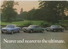 1974 Daimler Sovereign & folleto de seis doble (serie 2 modelos de tipo XJ6/XJ12)