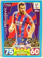 Match Attax 2017/18 Premier League - #099 Luka Milivojevic - Crystal Palace FC