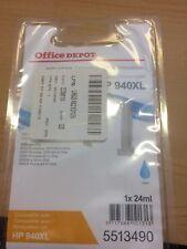 Office depot Compatible HP 940XL Cyan Encre Cartouche C4907A