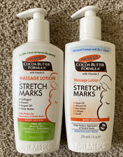 2 Pack Palmer Cocoa Butter Formula Massage Lotion For Stretch Marks 8.5 Oz Pump