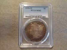 1890-CC MORGAN SILVER DOLLAR  PCGS MS62  TONED!
