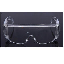 Clear Lens Protective Safety Glasses Eye Protection Goggles Lab Work Specs r#