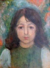 Un portrait expressionniste d'une fille