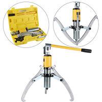 15 Ton Universal Bearing Puller Hydraulic Pump Gear Hub Removal Tool Set UK