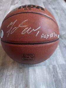 Autographed Michael Carter-Williams Syracuse Bucks Signed Basketball w/ Insc