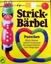 Alte Strick-Puppe Strick Bärbel Liesel Kinderstricken in der OVP
