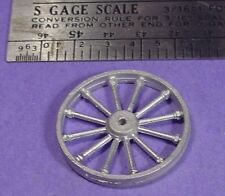 S SCALE Sn3 1/64 WISEMAN MODEL SERVICES DETAIL PARTS: S383 LARGE MINE PULLEY