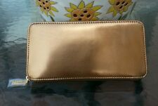 Hobo international genuine leather Lucy wallet, color mirror bronze