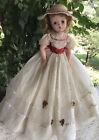 "Vintage Madame Alexander 20"" Cissy Doll Dressed in ""1955"" Summer Gown #2095"