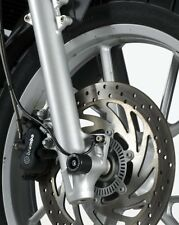 BMW F650GS 2008 on R&G racing fork protectors black