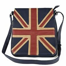 Navy Union Jack Design Shoulder Bag