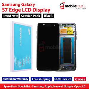 Samsung Service Pack Galaxy S7 Edge G935 LCD Digitizer Touch Screen w Frame