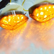 LED Flush Mount Front Turn Signals Light For Honda CBR 600RR 1000RR 2004-2007 05