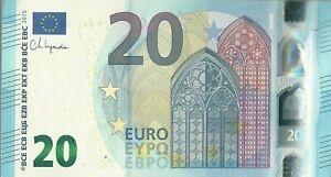 20 Euro Banknote Uncirculated  2015 F Prefix Bulgaria  Christine Lagarde
