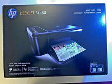 HP Deskjet F4480 All-In-One Inkjet Printer - Printer Copier Scanner NEW