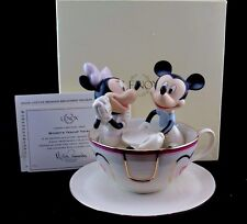 "Lenox ""Mickey's Teacup Twirl"" Disney Showcase Collection, Mint In Box with COA"