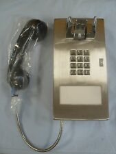 """New Armored Prison Inmate Phone Telephone w/ 28"""" Handset Hospital Hotel Courtesy"""