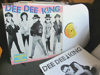 Dee Dee King standing in the spotlight LP '89 ramones ramone rap w/lyric xlibrar