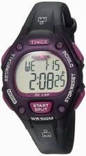 Timex Ironman Triathlon 30 Lap Ladies Digital Sport Watch w/Indiglo Purple/Black