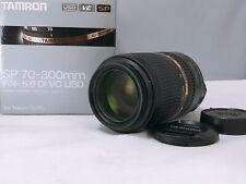 TOP MINT 🟢 TAMRON SP 70-300mm F4-5.6 Di VC USD A005 for Nikon F Mount Japan 148