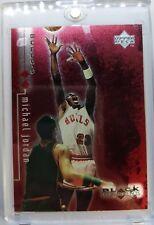 *#'d /3000* 1999 99 Black Diamond Double Diamond RED Michael Jordan #2