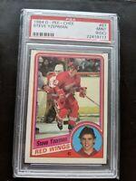 1984-85 O-Pee-Chee OPC #67 Steve Yzerman Rookie Slabbed RC PSA 9 Mint Red Wings