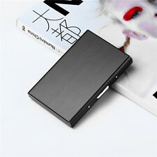 Stainless Steel Holder Security Wallet Bank Card Credit ID Card Hard Case Holder