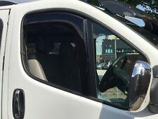 SNED OP30 Wind Deflectors Smoked Vauxhall Vivaro Renault Traffic MK1 2001>2013