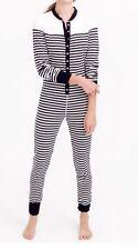 J Crew SAILOR-STRIPED UNION SUIT Pajama SZ.XXS Nwt #E4918