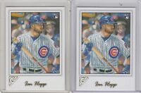 Ian Happ RC Rookie 2017 Topps Gallery Card #93 Cubs Lot of 2