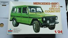 MERCEDES BENZ 230G CROSS COUNTRY 1/24 ESCI