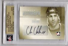2006-07 ITG ULTIMATE MEMORABILIA 7TH EDITION  AUTO SILVER CHRIS CHELIOS 33/50