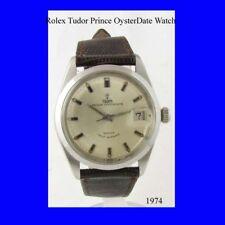 VINTAGE Rolex Tudor Nuovo di zecca OYSTERDATE Principe Watch 1974
