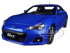 SUBARU BR-Z WR BLUE MICA 1/18 DIECAST CAR MODEL BY AUTOART 78691