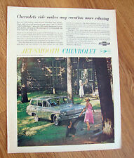 1962 Chevrolet Chevy Bel Air 4 Door 6 Passenger Station Wagon Ad