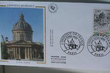 ENVELOPPE PREMIER JOUR SOIE 1995 INSTITUT DE FRANCE