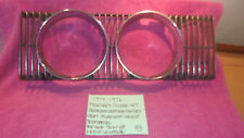 1974-1976 MERCURY COUGAR XR7 FACTORY HEADLIGHT TRIM D4WB-13064-AA FREE SHIPPING