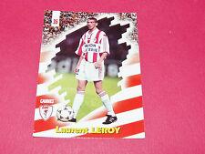 PANINI FOOTBALL CARD 98 1997-1998 LAURENT LEROY AS CANNES LA BOCCA ASC